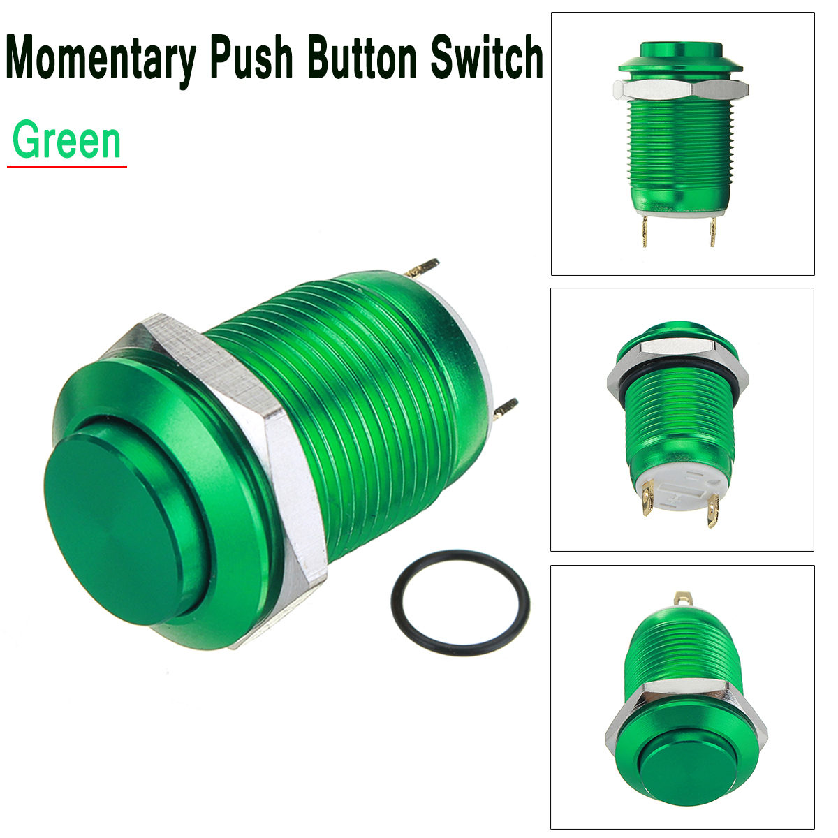 Mini Stainless Steel Momentary Push Button Switch 2 Pin 12mm 12v Ebay Electrical Wiring