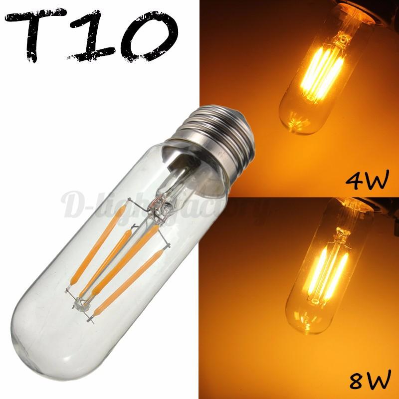 e27 edison ampoule t10 g80 st58 cob led filament 2 8w globe tube lampe bulb 220v ebay. Black Bedroom Furniture Sets. Home Design Ideas