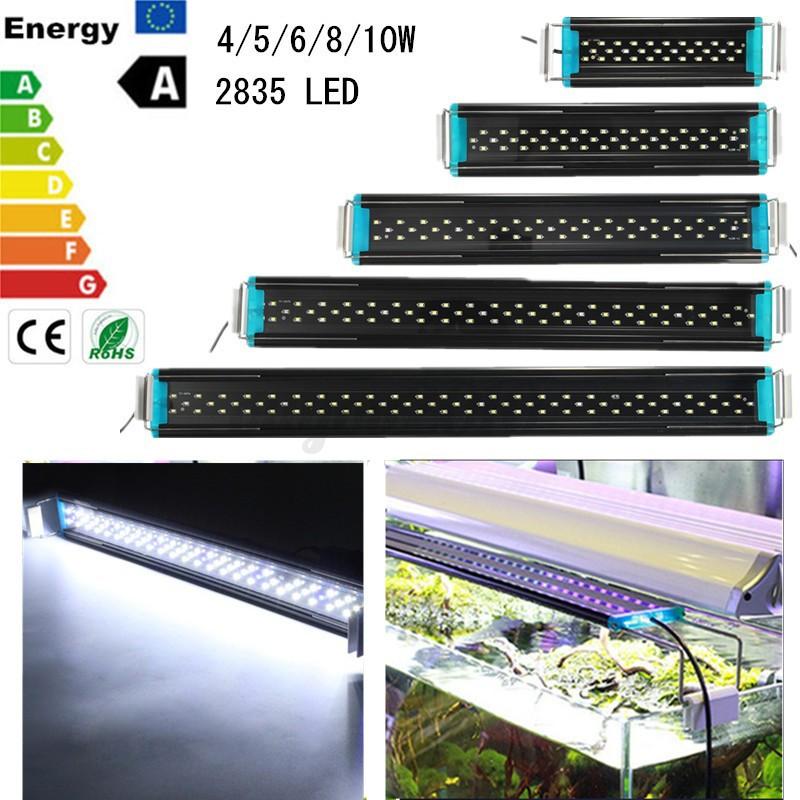 4 5 6 8 10w f r 20 70cm led aquarium beleuchtung aquariumlampe aufsetzleuchte ebay. Black Bedroom Furniture Sets. Home Design Ideas