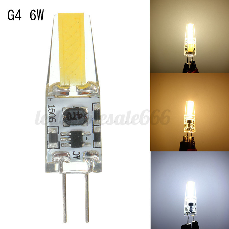 dimmbar g4 6w 9w led cob leuchtmittel stiftsockel ersetze halogen ac dc 12v 220v ebay. Black Bedroom Furniture Sets. Home Design Ideas