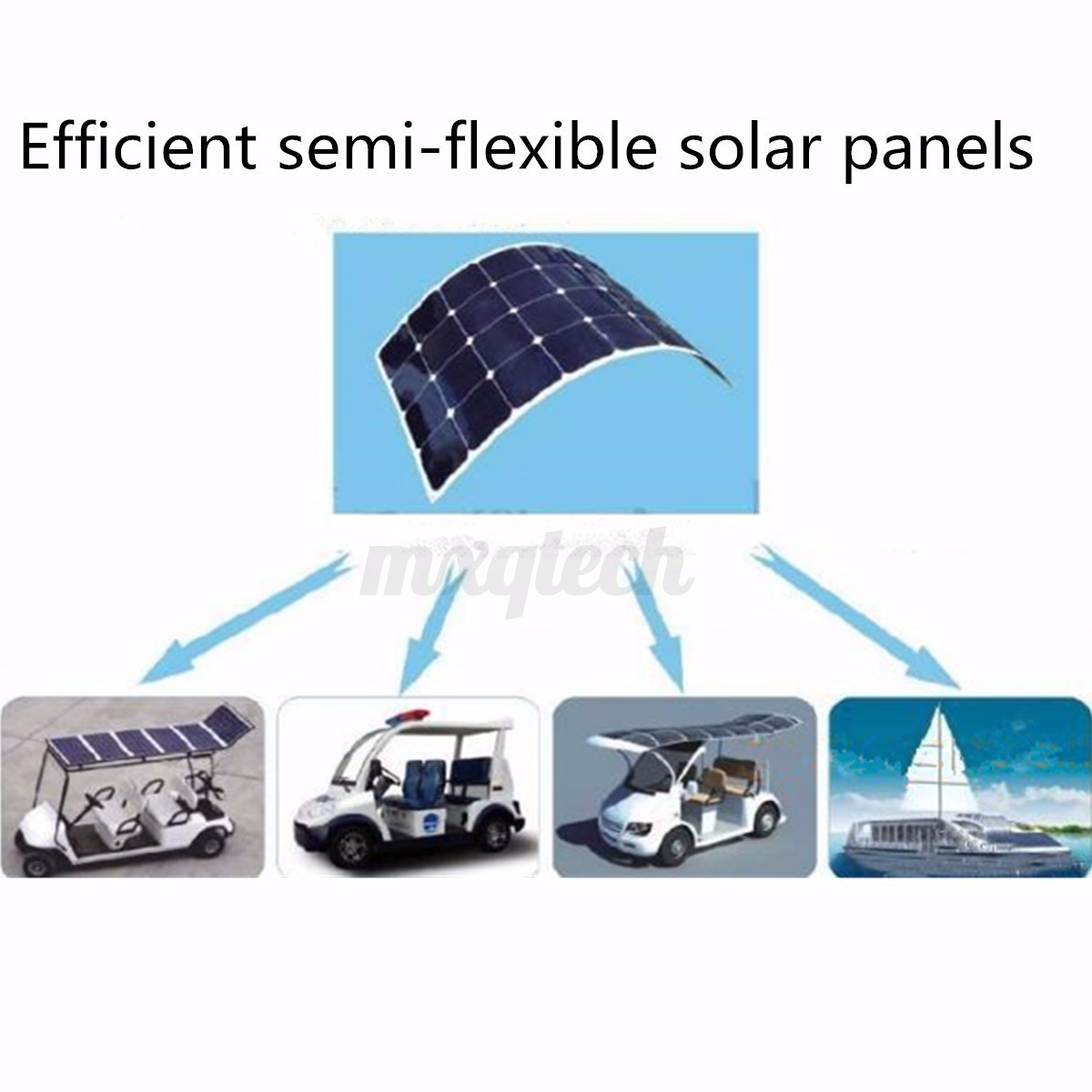 100w 200w 300w 400w 500w 1kw watt solar panel semi flexible mono panneau solaire ebay. Black Bedroom Furniture Sets. Home Design Ideas