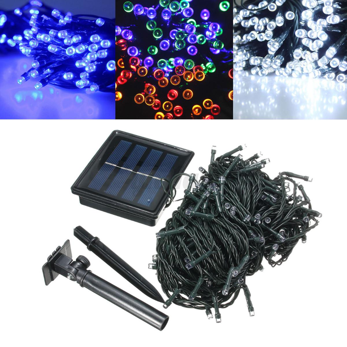1 18m led lichterkette solar batterie weihnachten licht. Black Bedroom Furniture Sets. Home Design Ideas