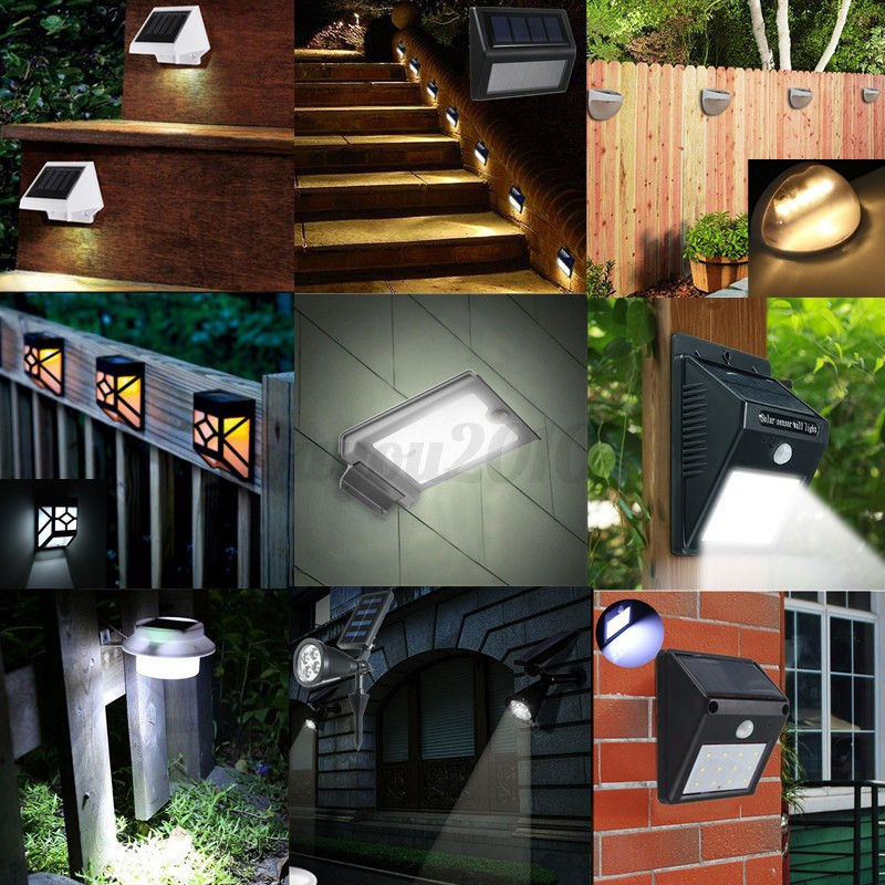 2 46 led solar wandleuchte wandlampe garten strahler. Black Bedroom Furniture Sets. Home Design Ideas