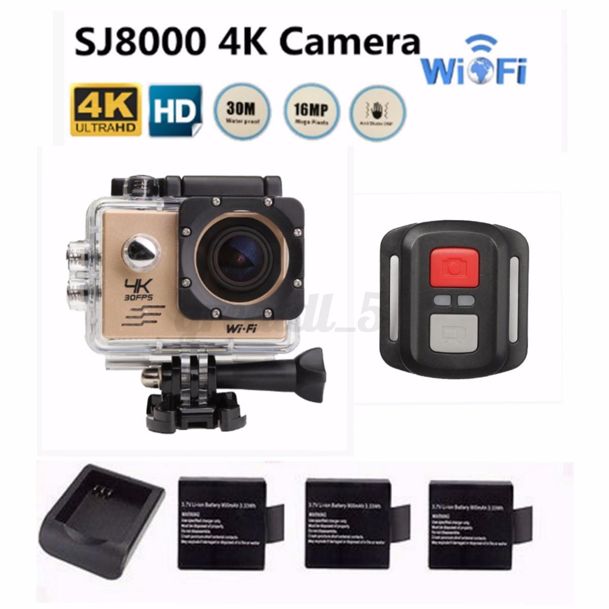 Action Sport Cam 4k Full Hd With Remote Random Daftar Update Harga Source Waterproof Sj8000 16mp Wifi Sports