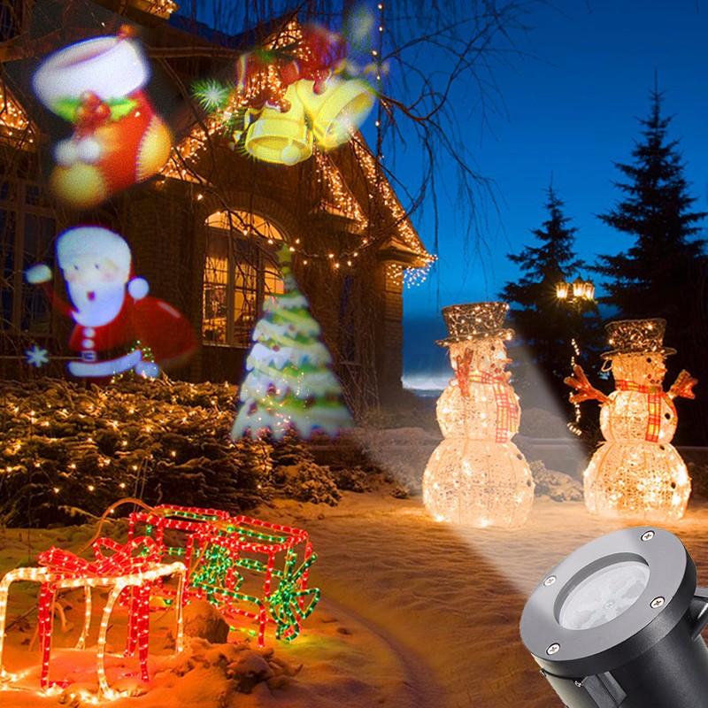 12pattern christmas moving laser projector landscape stage. Black Bedroom Furniture Sets. Home Design Ideas