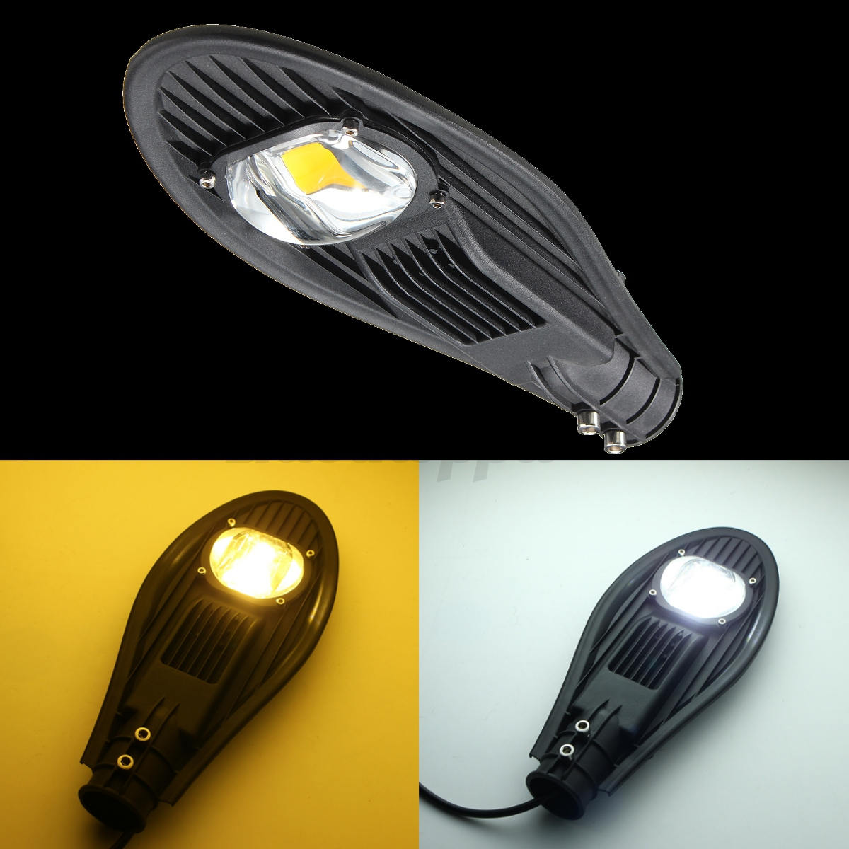 20w 30w led road street flood light industrial lamp outdoor garden yard 12v 110v ebay. Black Bedroom Furniture Sets. Home Design Ideas