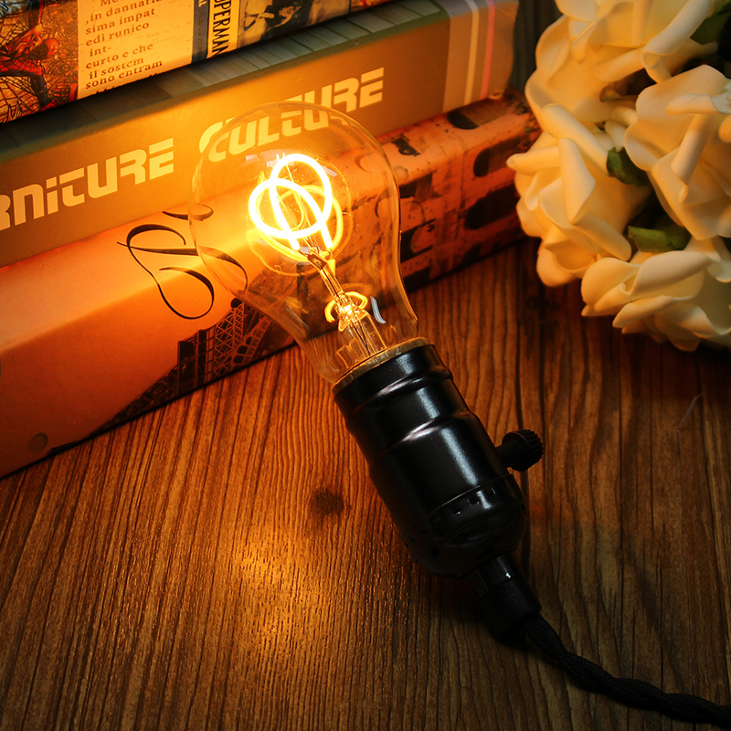 dimmable e27 cob led vintage industriel edison lampe filament lumi re ampoule ebay. Black Bedroom Furniture Sets. Home Design Ideas