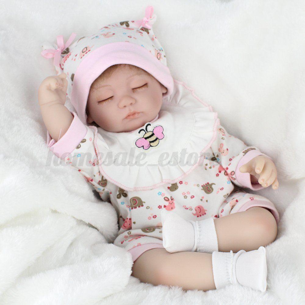 Silicone Handmade Baby Girl Doll Newborn Lifelike Reborn