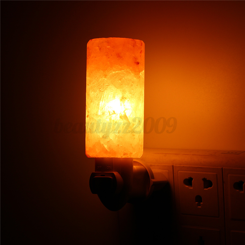 Mini Cute Hand Carved Natural Crystal Himalayan Salt Wall Lamp Night Light Gifts eBay