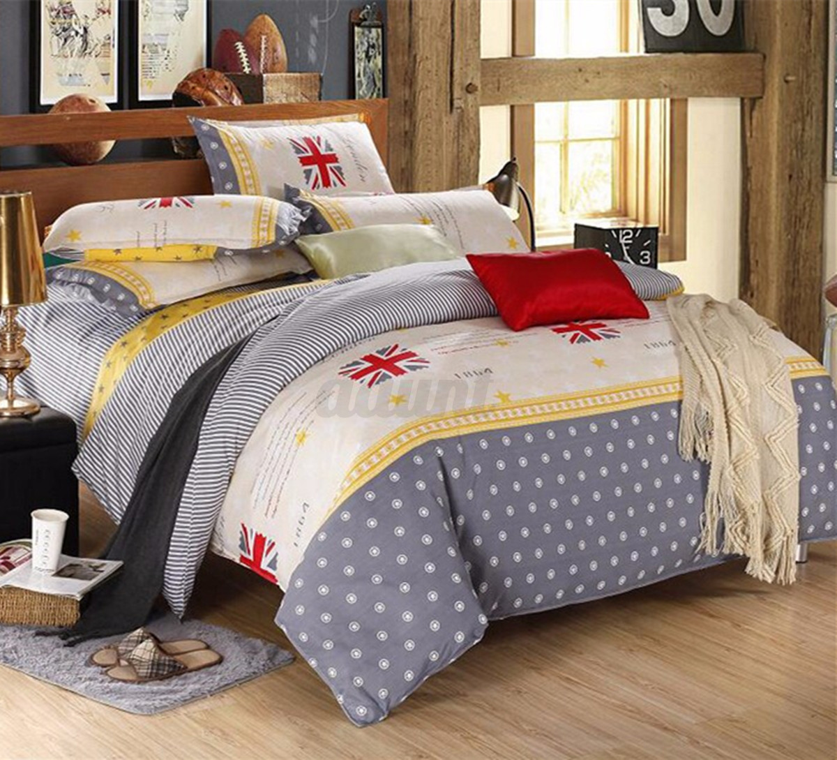 single double queen king size printing style bedding pillowc