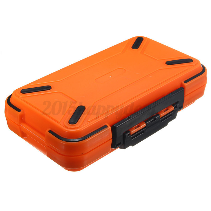 Large waterproof storage case fly fishing lure spoon hook for Large tackle boxes for fishing