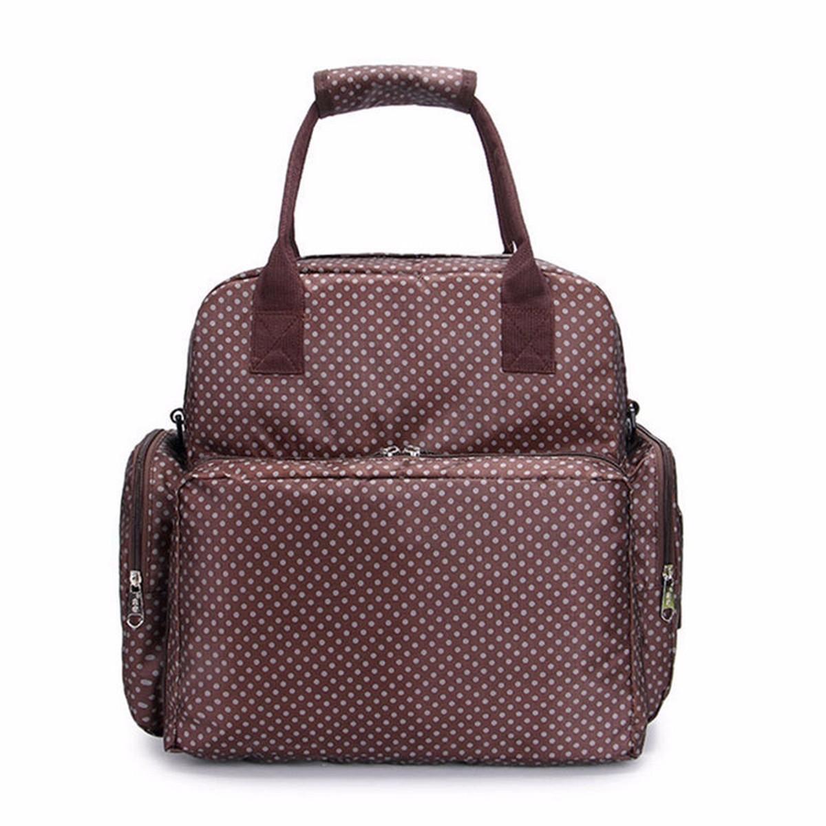 baby diaper shoulder bag nappy large backpack changing bag mummy tote handbag ebay. Black Bedroom Furniture Sets. Home Design Ideas