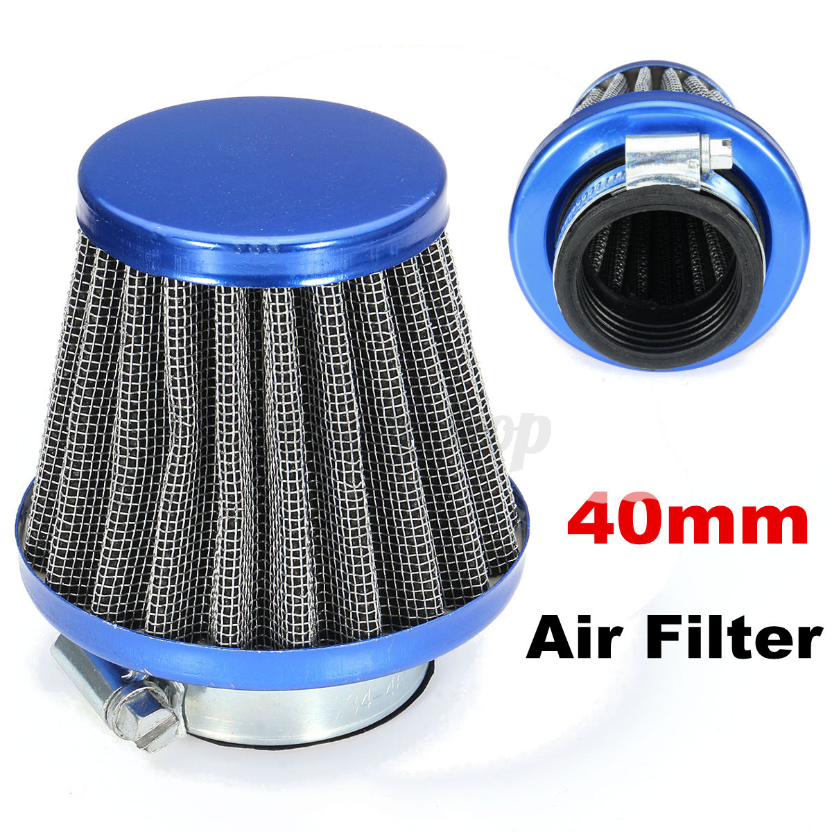 Moped Air Filter : Mm air filter cleaner chinese gy cc moped scooter