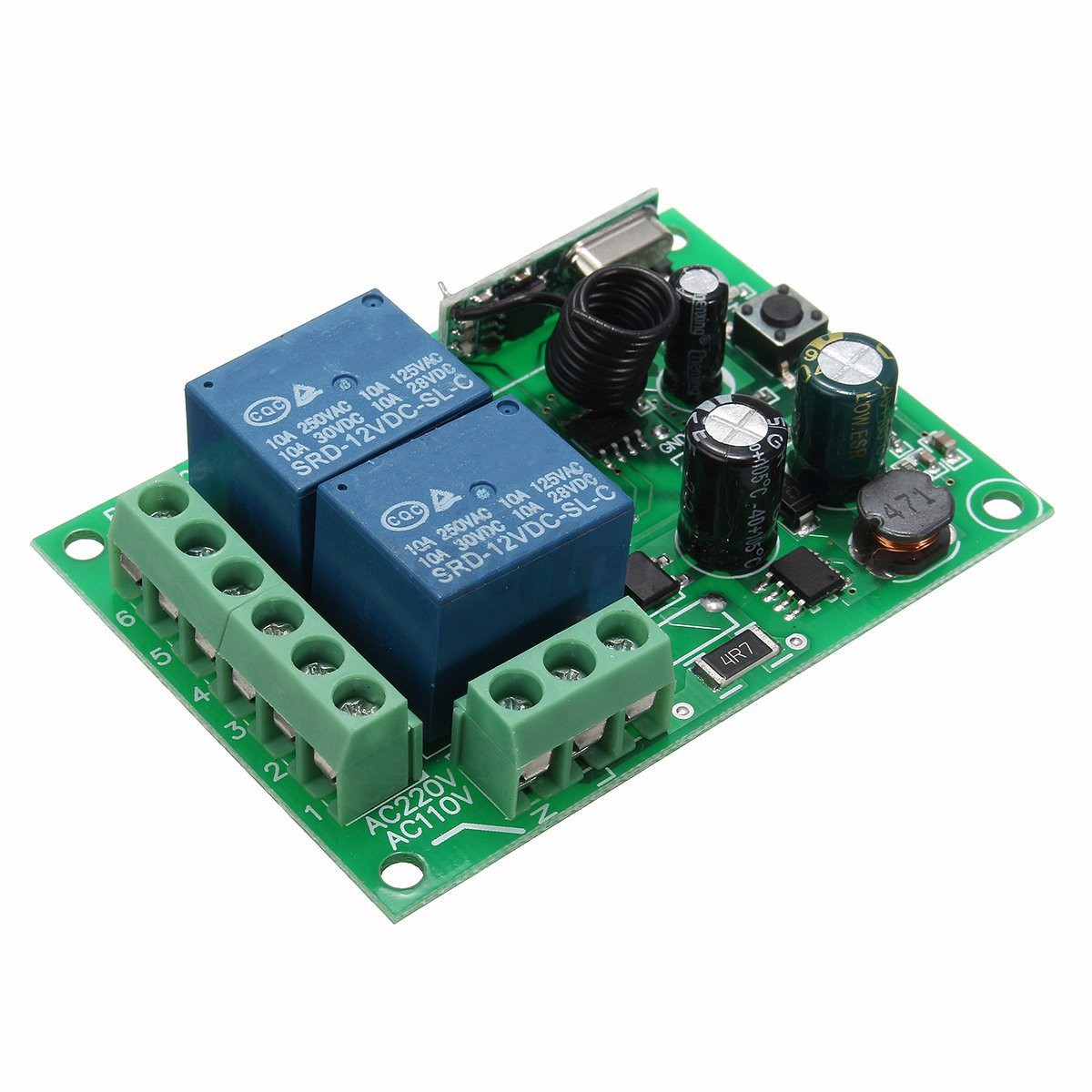 radio frequency relay control Drones relay rfid signals for inventory control radio frequency id tags the reader and the tag transmit simultaneously at the same frequency a relay.