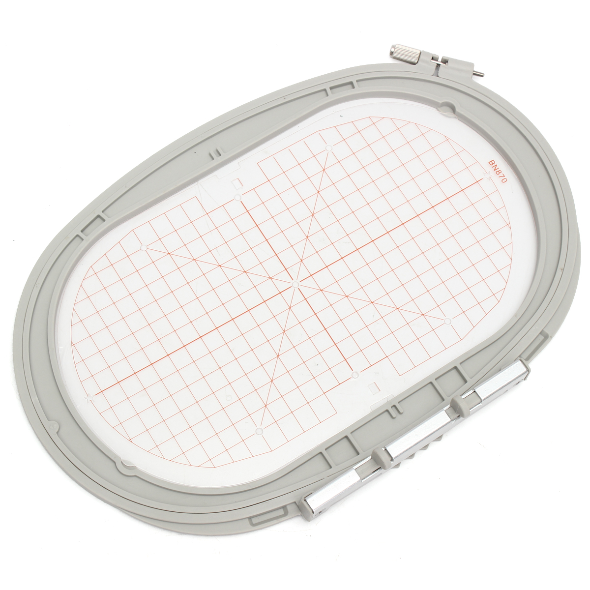 Large oval rectangle embroidery hoop for bernina aurora