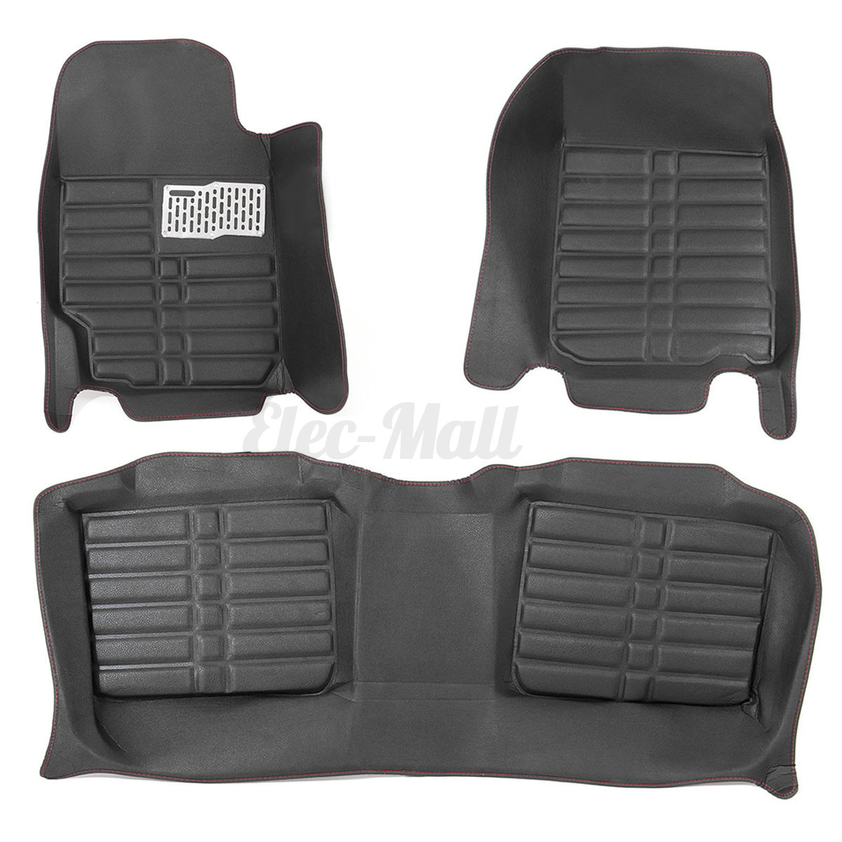 Car Floor Leather Front Amp Rear Liner Waterproof Mat For
