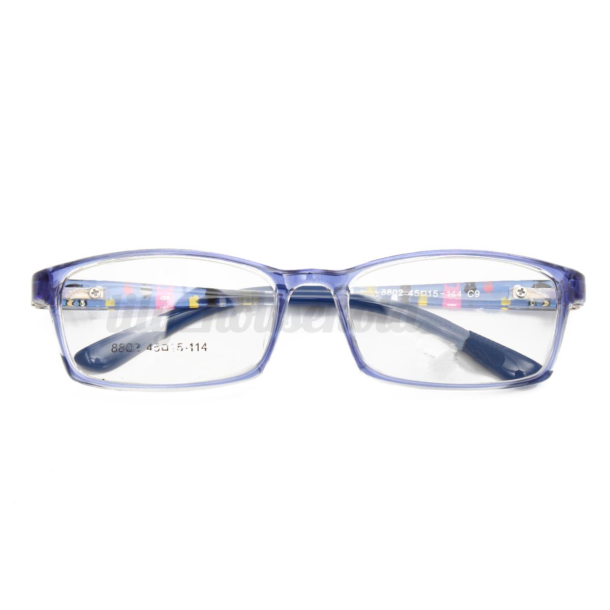 Kinder Brille Brillengestell Brillenfassung Nerd Brillen Vollrand ...