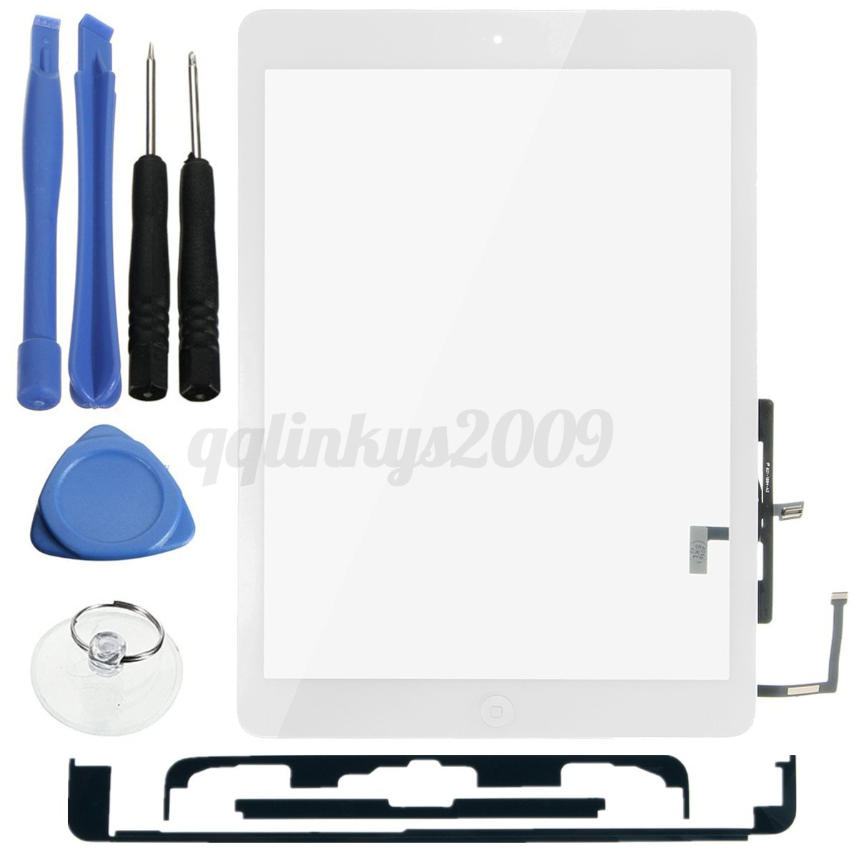 Touch-Screen-Digitizer-Glass-Lens-Home-Key-Tool-For-Apple-iPad-Air-5-A1474-A1475