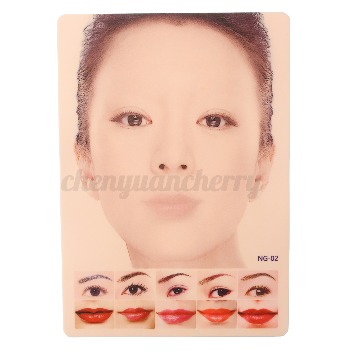 New silicone 4d eyebrow lips face tattoo makeup permanent for Face tattoo makeup
