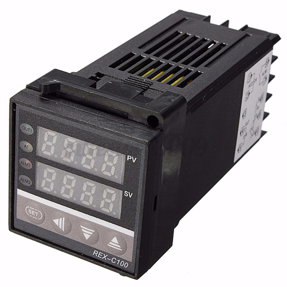 REX C100 Temperature Controller   max.40A SSR   K Thermocouple eBay #716740