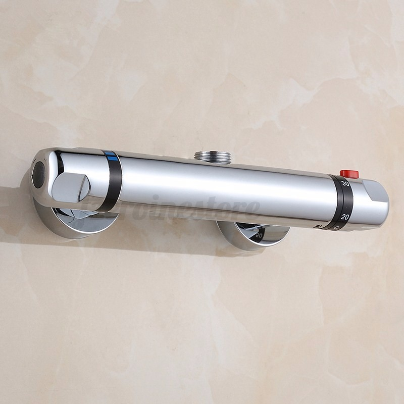 New Thermostatic Control Mixing Valve Faucet Bath Shower