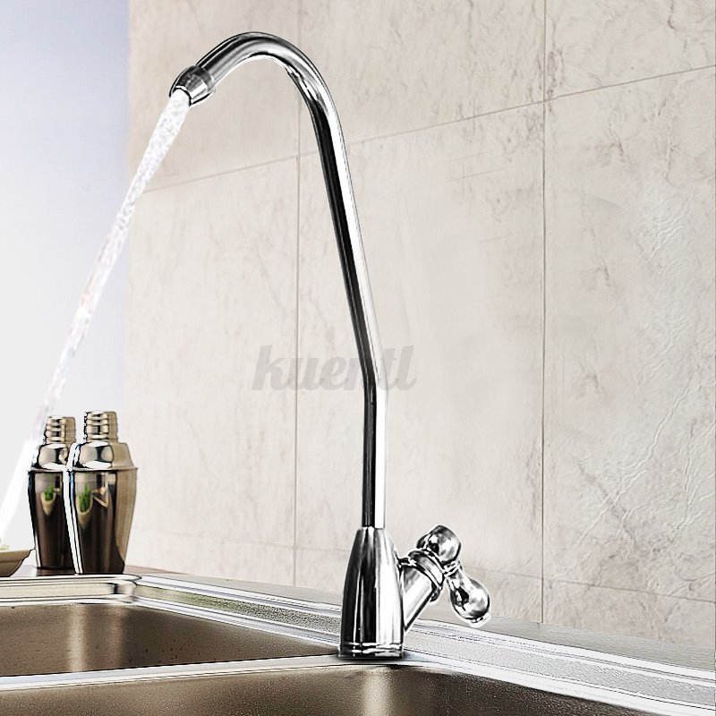1 4 39 39 ro drinking water filter faucet chrome reverse osmosis sink kitchen tap ebay. Black Bedroom Furniture Sets. Home Design Ideas