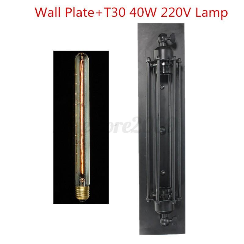 E27-Retro-Applique-Murale-Spot-Abat-jour-Edison-Bulb-Lampe-Vintage-Decor-Maison