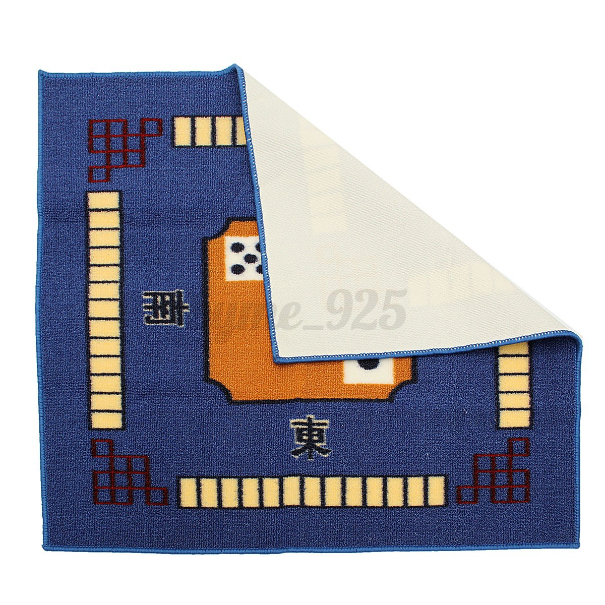 Mahjong Table Mat 78 x 78cm Mahjong / Card / Game Table Cover Mute Jacquard Tablecloth 3 ...