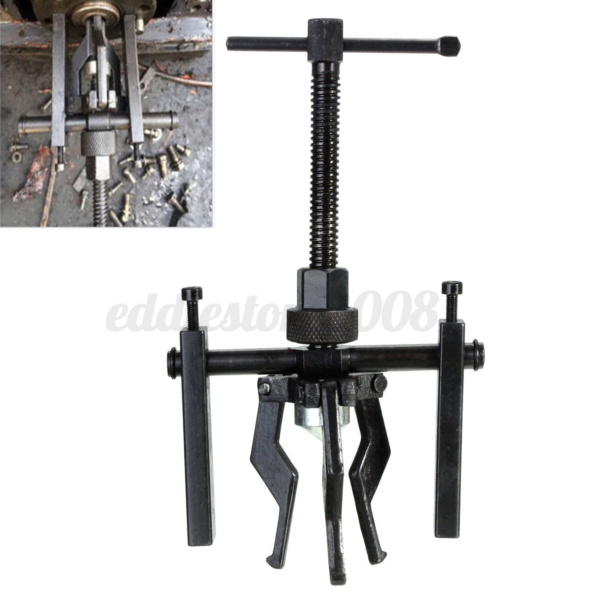 3 Jaw Inner Bearing Puller Gear Extractor Automotive