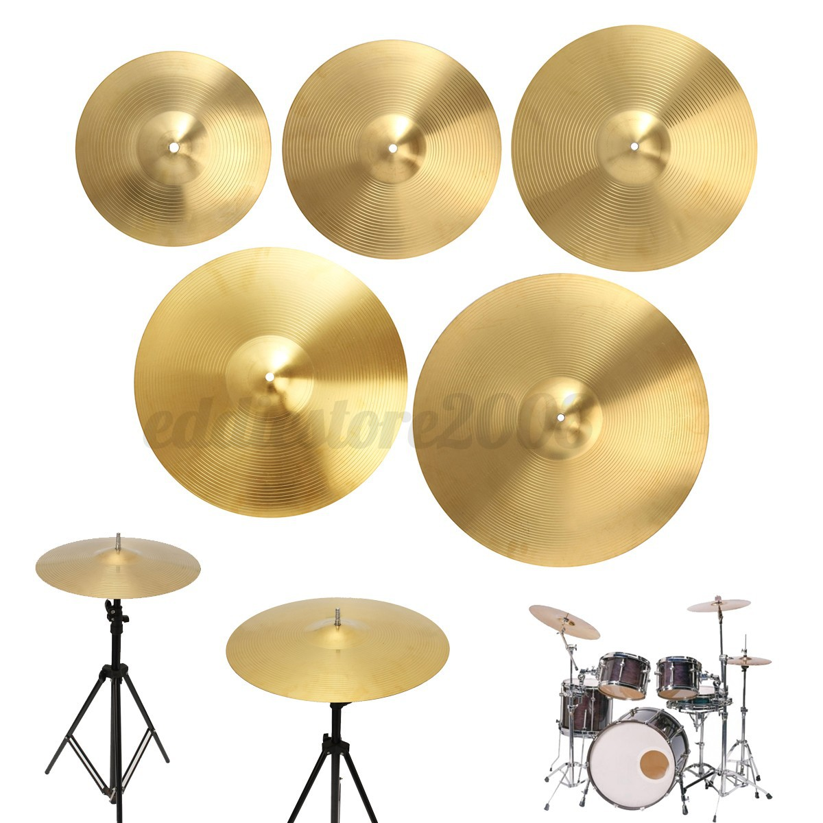 Cymbals For Crash And Ride : 12 39 39 14 39 39 16 39 39 18 39 39 20 39 39 splash hi hat crash ride cymbal drummer brass music ebay ~ Russianpoet.info Haus und Dekorationen