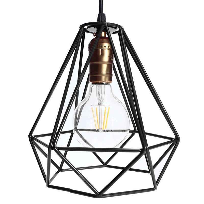 modern vintage lampshade industrial ceiling light metal