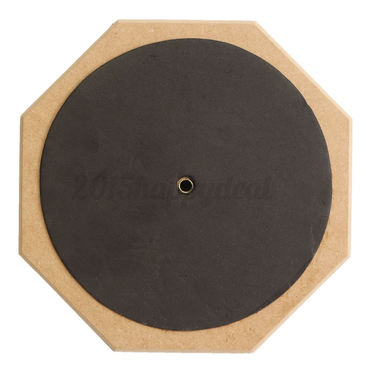8'' Soft Black Dumb Drum Pad Exercise Mat Blow Plate