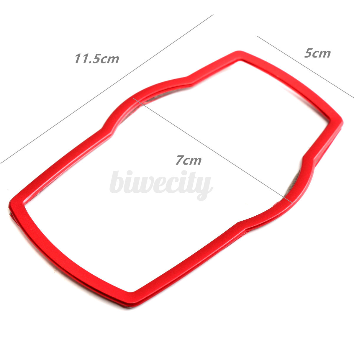 Bmw X6 Red Interior: Red Interior Multimedia Buttons Frame Cover Trim For BMW