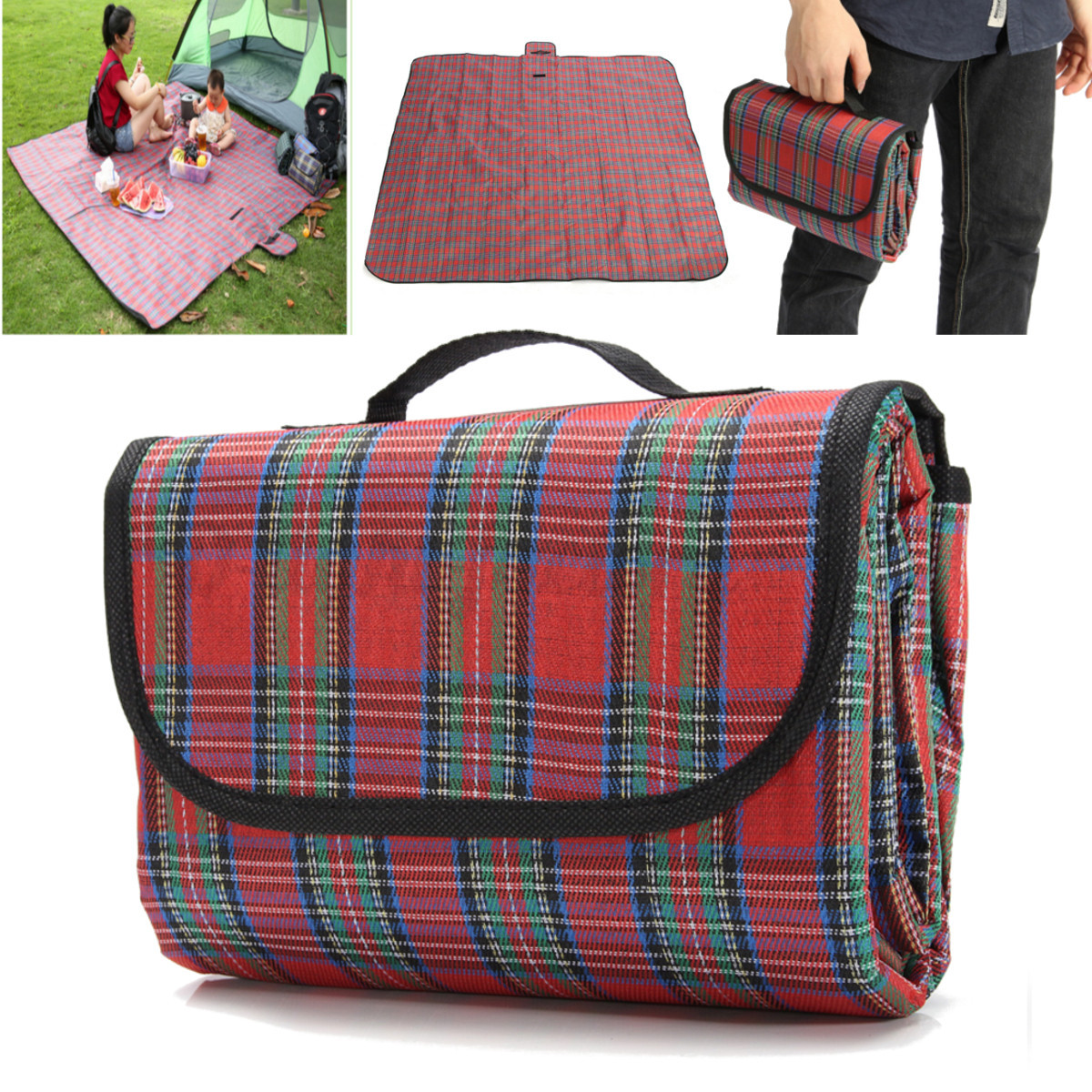 2x2m waterproof extra large picnic blanket rug mat for for Au maison picnic blanket