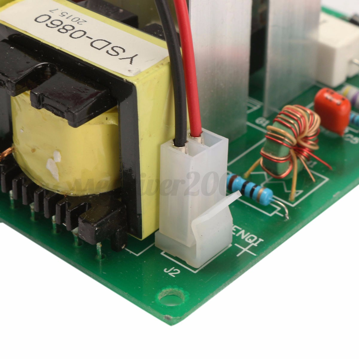 110v 100w 40khz Ultrasonic Cleaner Power Driver Board With 60w Transducer Circuit Detail Image