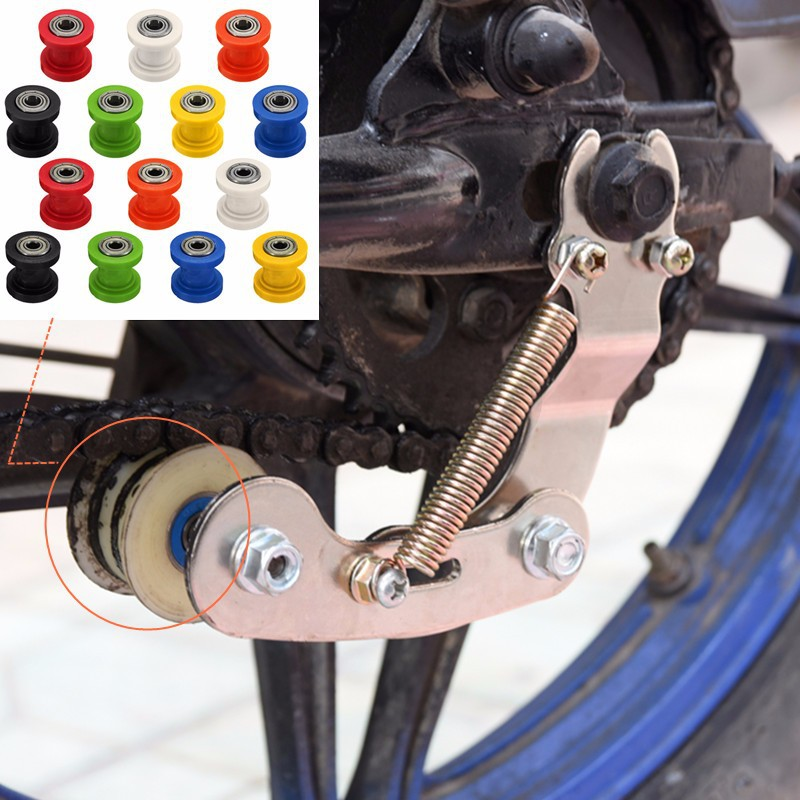 Mini Chain Rollers Pulley Guide Tensioner Idler 8mm 10mm PIT Quad Dirt Bike ATV