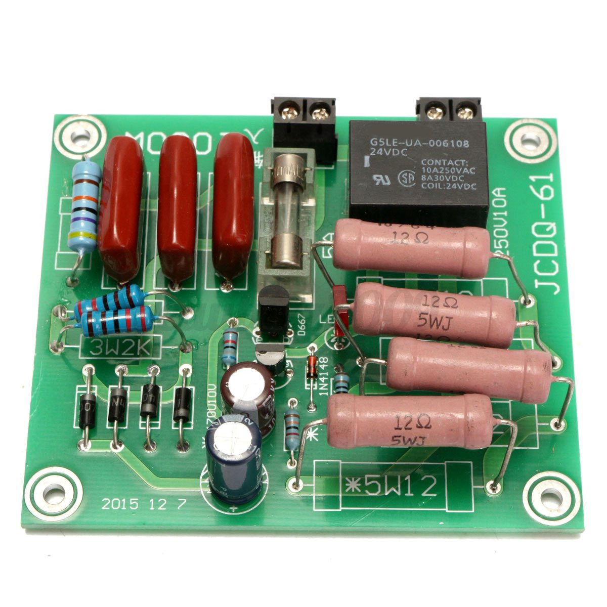 Soft Start Dual Switch And More Time Delay Circuit Related Keywords Suggestions Http Ebaycomau Itm 1000w 220v Transformer Amplifier Protection Board Power 131824232899 Trksidp2047675c100011