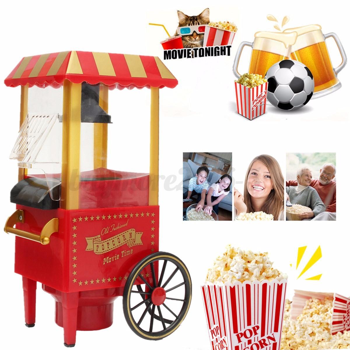 Electric Profession Pop Corn Popper Popcorn Maker Cooker Machine Home Party DIY