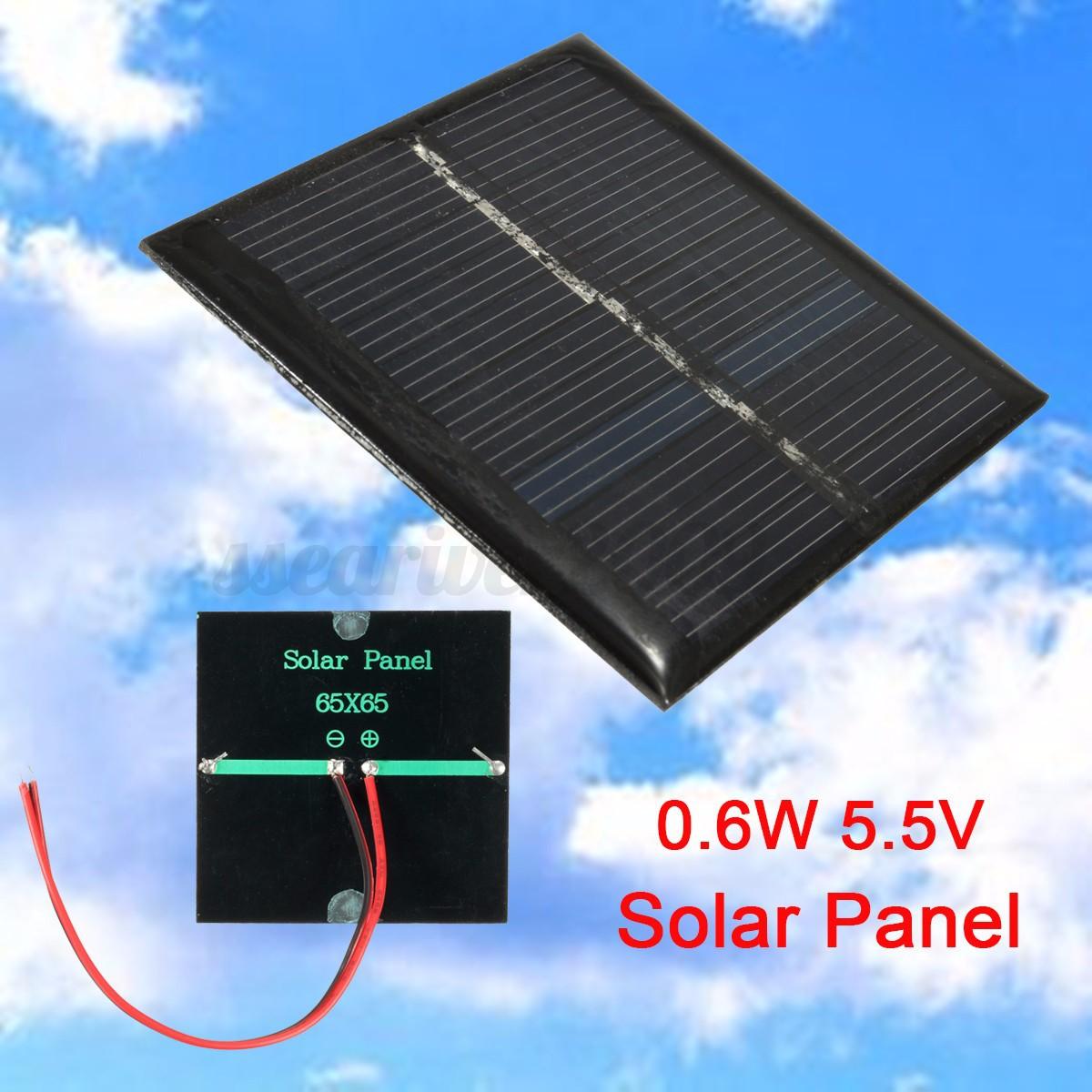 Mini 5/6/9/18V Solar Panel DIY Module For Light Cell Phone ...