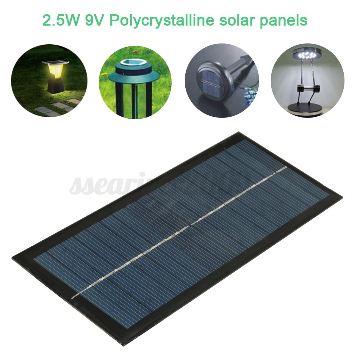 Mini 5 6 9 18v Solar Panel Diy Module For Light Cell Phone