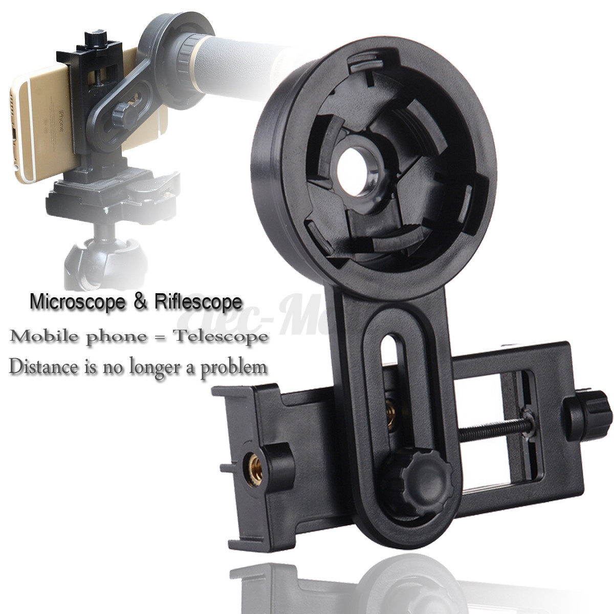 ... Astronomical Telescope Smartphone Camera Mount Holder Adapter Clip