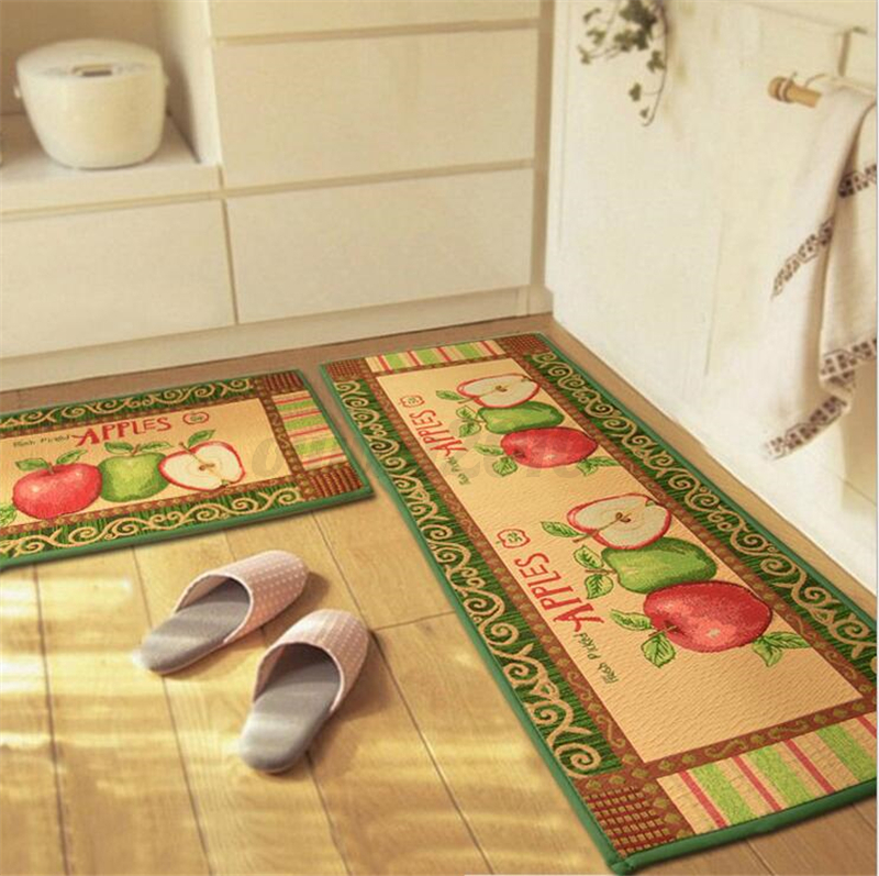 Apples home decor area rug carpet kitchen bedroom bathroom for Bathroom decor rugs