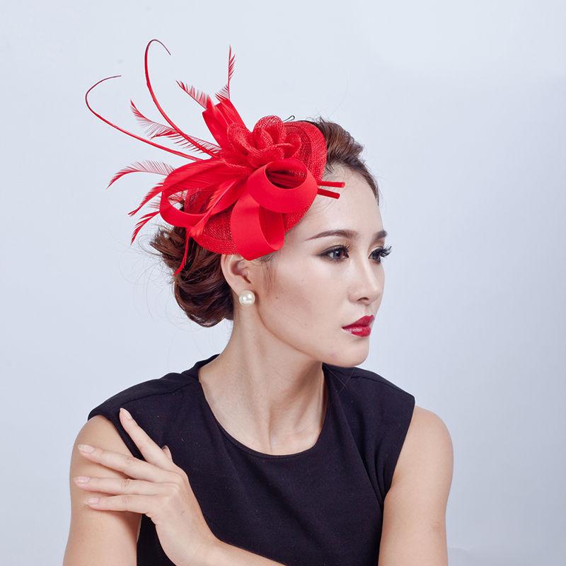 femme bibi voilette plume serre t te cheveux mariage mari e tulle voile bonnet ebay. Black Bedroom Furniture Sets. Home Design Ideas