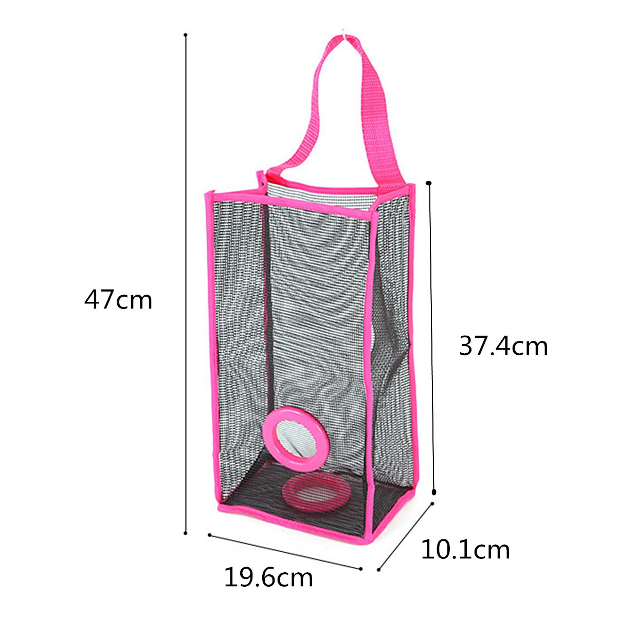 Kitchen-Plastic-Garbage-Storage-Bag-Pouch-Practical-Breathable-Mesh-Wall-Hanging