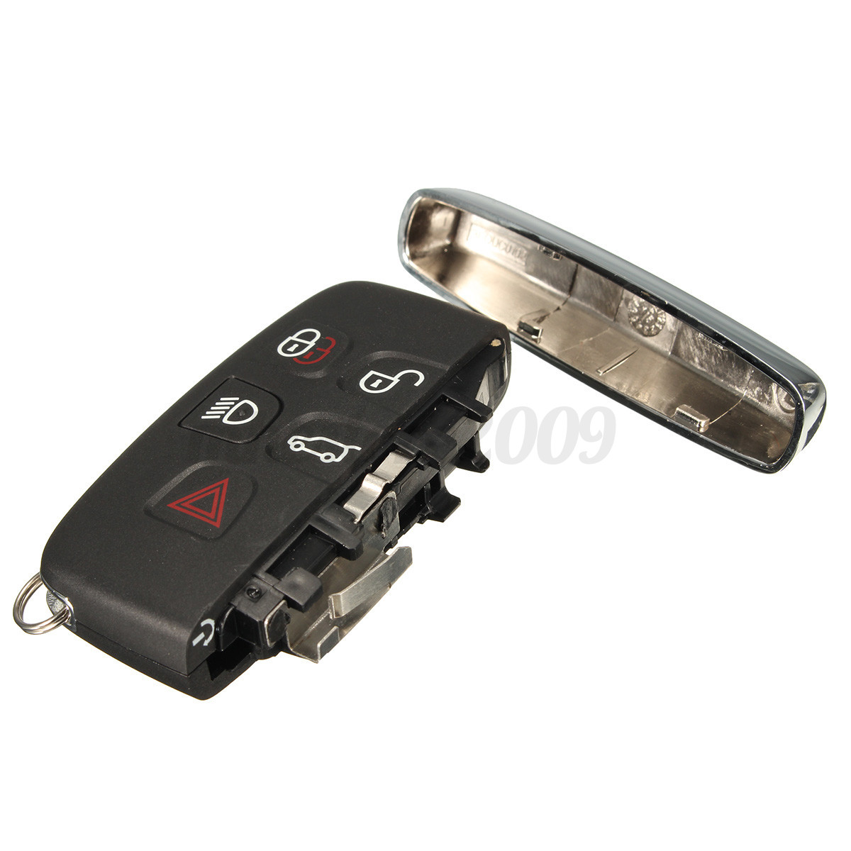5 Buttons Remote Key Fob 434MHz W/ 7952 Chip For Land