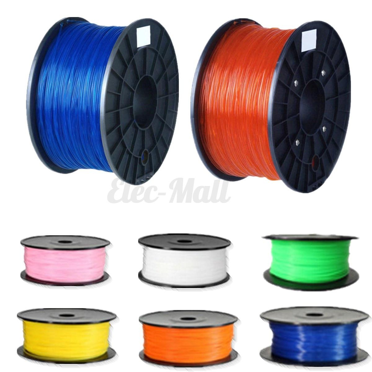 Colors Glow In The Dark 10m 3D Printer Filament 1.75mm PLA