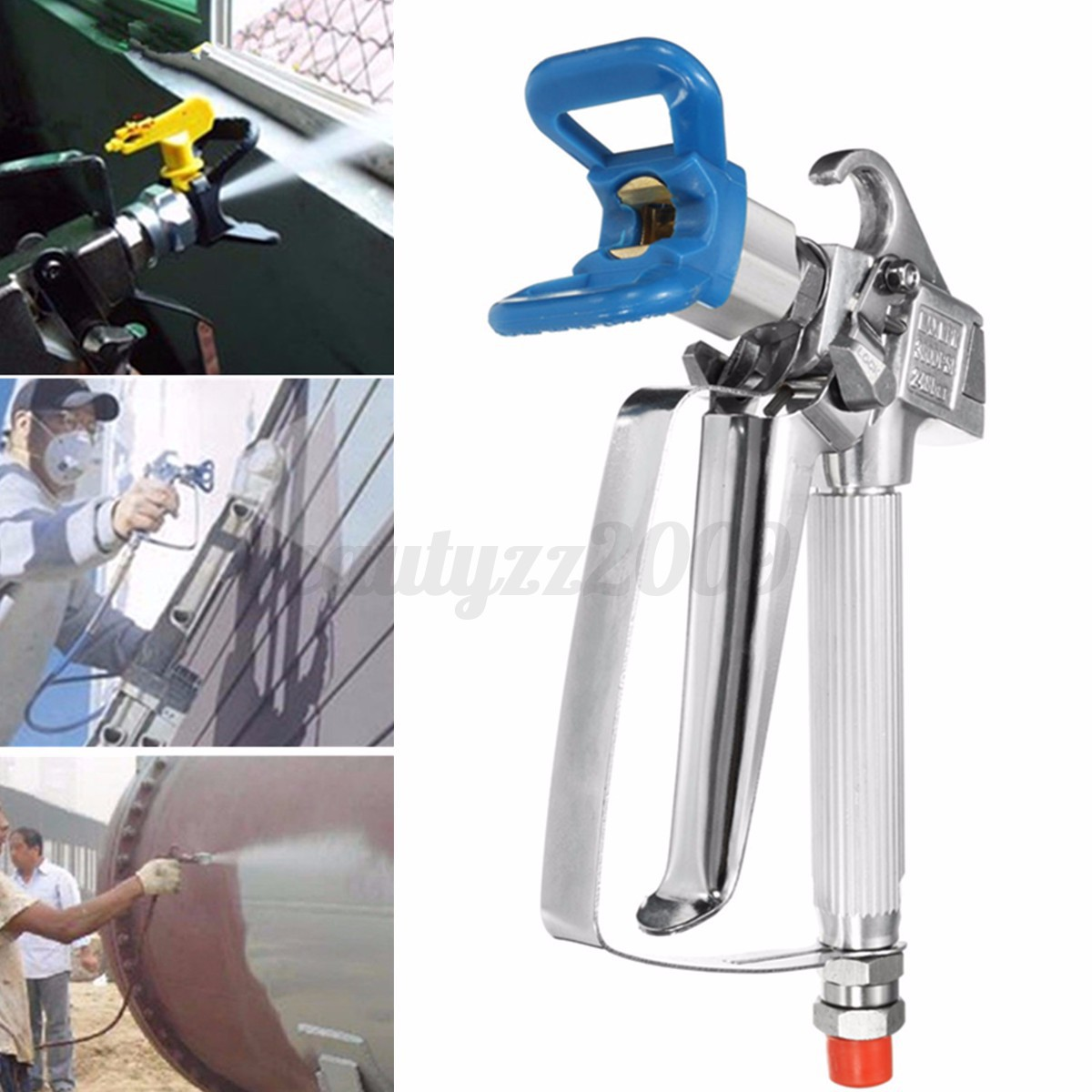 details about 3600psi airless paint spray gun tip guard for graco most