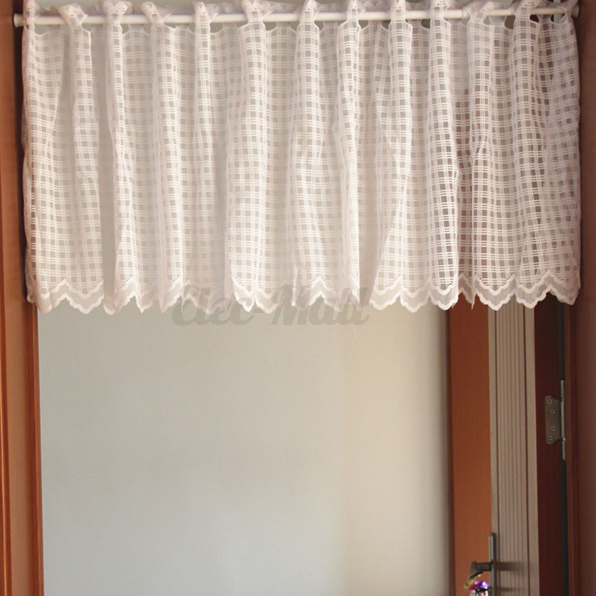 White French Country Style Cafe Curtain Voile Net Sets