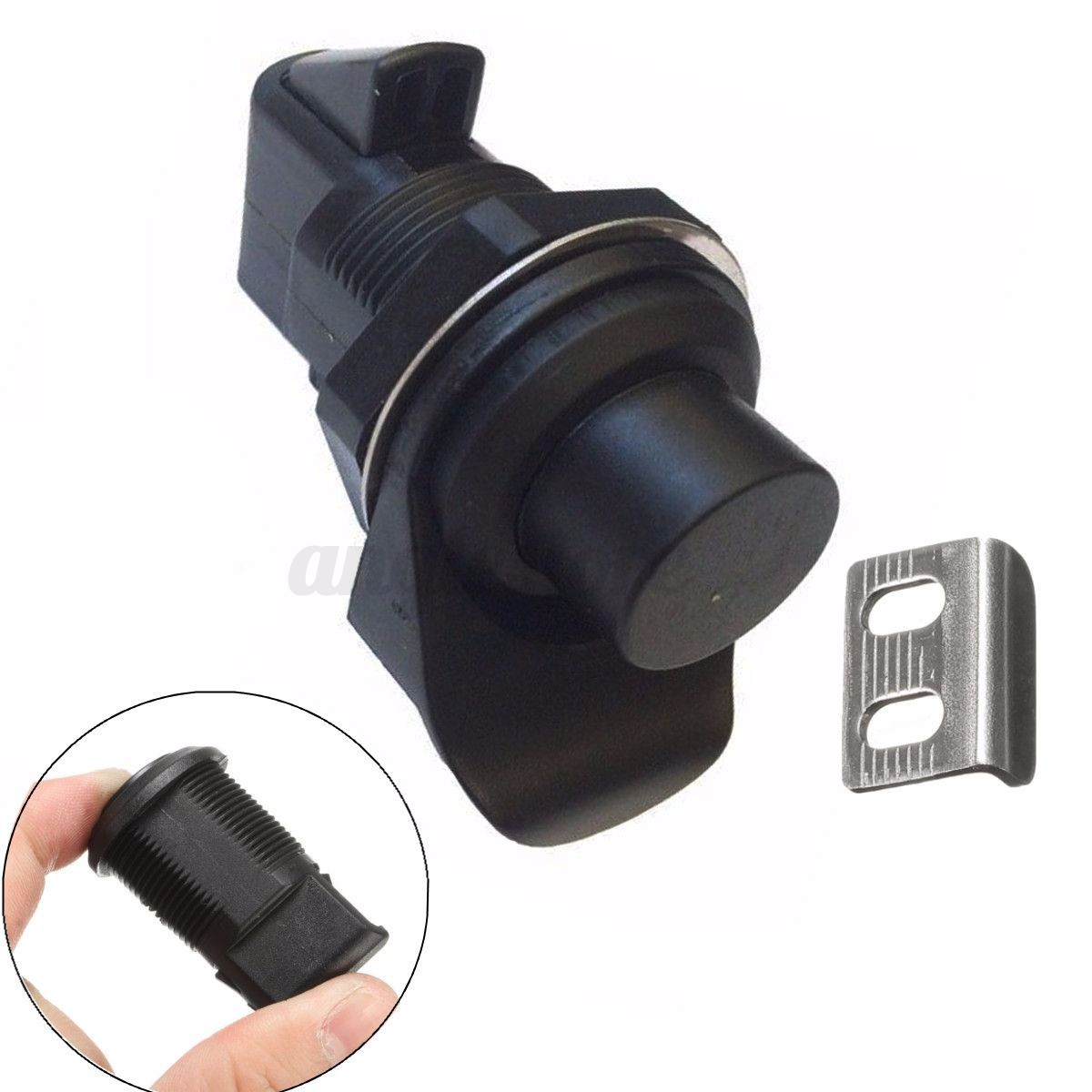 Small surface mounted replacement lock for antique furniture ebay - Push Button Latch Replacement For Boat Door Glovebox Southco 93 304 Non Locking