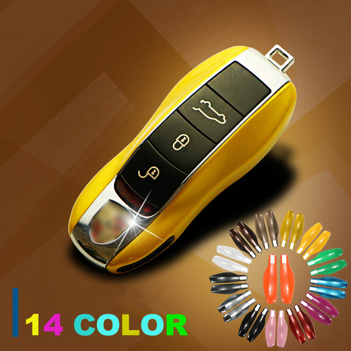 Image is loading ABS-Smart-Remote-Key-Case-Cover-Shell-Holder-
